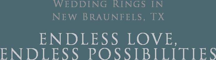 Wedding Rings in New Braunfels TX