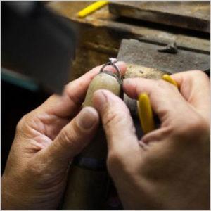 Wedding Ring longevity ernestos jewelry